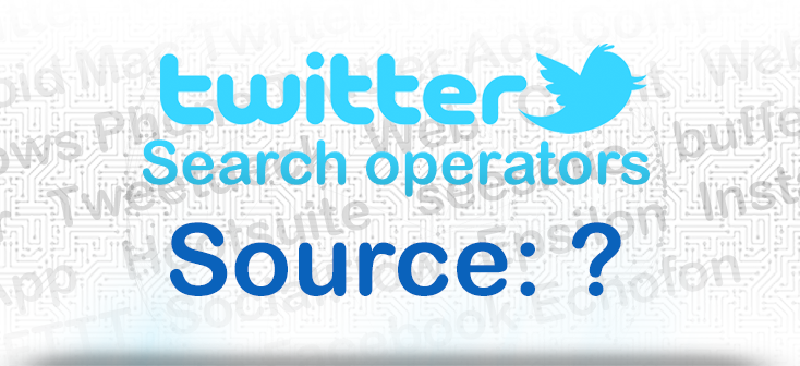 Featured image of post Finding tweets by source or device